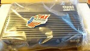 Lanzar Opti Drive160 Plus Rare Old School Stereo Power Amplifier. Made In USA!