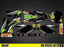 Kit Déco Moto / Mx Decal Kit Derbi 50 - Bud