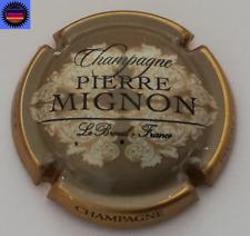 Capsule de Champagne PIERRE MIGNON Gris Contour Or !!!
