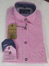 Marvelis Langarm Hemd Gr. M 39/40 Kentkragen  Trachtenhemd Art. 69068481 Rosa