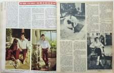 *ROCK HUDSON => COUPURE DE PRESSE Espagne 2 pages 1974 // SPANISH CLIPPING