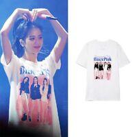 Kpop BLACKPINK  Tshirt Short Sleeve Women Men K-pop Cotton Tee T-shirt