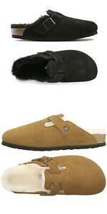 Birkenstock Women Boston Shearling Sandals