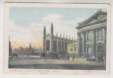 Cambridgeshire postcard - Cambridge. King's College, Kings Parade (A15)