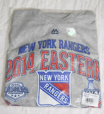 New York Rangers NHL 2014 Conference Champions Locker Room T Shirt - Youth Small