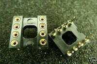 20X 8 PIN DIP DIP8 IC Socket Adapter Gold Plated Opamp