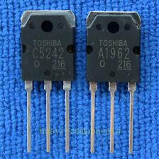 1pcs 2SA1962 + 1pcs 2SC5242 2SA1962/2SC5242 A1962/C5242 TOSHIBA TO-3P