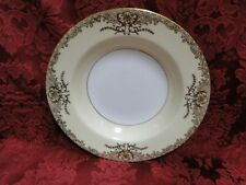 Noritake Goldenglo 7271 Rimmed Soup Bowl(s), Cream Band w/Gold
