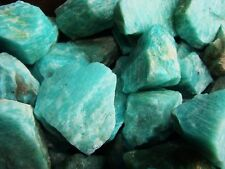 2000 Carat Lots of Unsearched Natural Amazonite Rough - Plus a FREE Faceted Gem