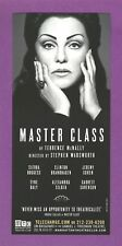 TYNE DALY as MARIA CALLAS in MASTER CLASS on B'way 2011 with SIERRA BOGGESS