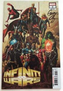 Nycc 2018 Infinity Wars #2 Variante Housse Avengers Signé Gerry Duggan