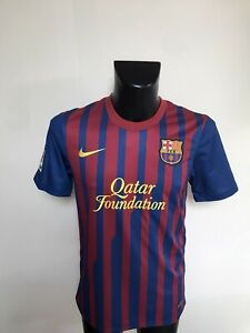 Maillot Foot Ancien Barcelone Numero 10 Messi Taille S