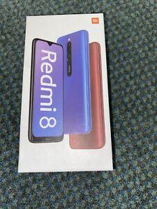 Xiaomi Redmi 8 4GB RAM 64GB ROM Sapphire Blue- Unlocked Smartphone