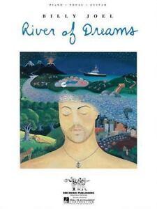 Piano-Vocal-Guitar: Billy Joel - River of Dreams (1993, Paperback)