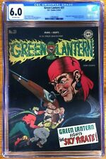 Green Lantern Vol. 1 - #27 -Green Lantern fights the Sky Pirate - CGC 6.0 - Rare
