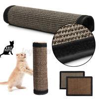 Pet Cat Sisal Hemp Pad Scratching Post Toy Board Furniture Protected Mat  A D
