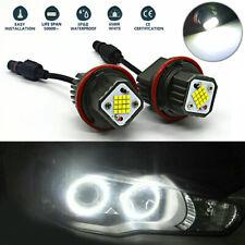 2pcs Car Angel Eyes Halo Ring Light Bulbs 160W LED Marker For BMW E39 E60 E63 X5