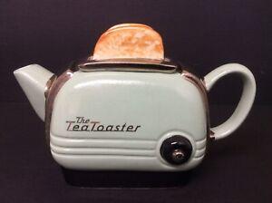 SWINESIDE TEAPOTTERY The Tea Toaster Teapot Collectable