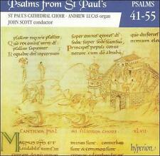 Psalms from St. Paul's Cathedral Choir Vol. 4 Psalms 41-55 CD Hyperion