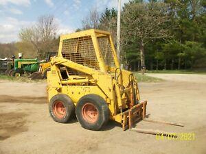 Case 1537 Skid Loader Skidsteer Bobcat NO RESERVE wheel tractor farmall deere b