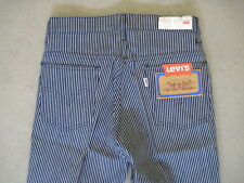 NOS 90s LEVI'S 630 Matrosen Jeans Gestreift High Waist True Vintage Monki Asos