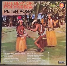 PETER POSA AND THE ISLANDERS - THE BEAT OF POLYNESIA OZ PRESSINGON EMI/AXIS 6064