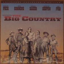 The Big Country (1958) - USA MGM/UA Laserdisc / Gregory Peck, Charlton Heston