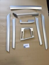 OEM BMW 2004 3 SERIES E46 SALOON INTERIOR TRIM SET SILVER DASH DOOR TRIMS *339