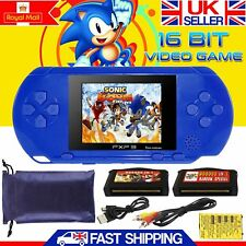16 Bit PXP 3 PVP Portable Video Game Handheld Console 150+ Games Retro Megadrive