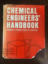 CHEMICAL ENGINEERS' HANDBOOK Perry / Chilton 1973 Fifth Edition Third Printing