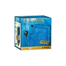 AquaTech Fish Tank Ez-Change #1 Cartridge for 5-15 Filters 3-Stage System 6 Pack