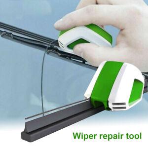Windshield Rubber Regroove Repair Wiper Blades Restorer Cutter Trimmer Tool
