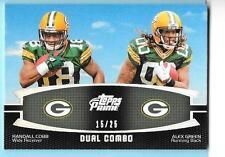 2011 Topps Prime Dual Combo Randall Cobb/Alex Green 15/25 Packers