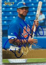 New York Mets Butch Huskey Signed 1995 Select Rookie Auto Card