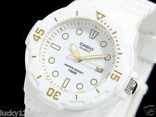 LRW-200H-7E2 Japan Movt neue echte Casio Uhr 100M Datum Display Analog White