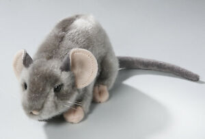 NEW PLUSH CUDDLY CRITTERS GREY MOUSE SOFT TOY TEDDY