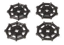 LEGO - 4 x Gitterplatte / Plattform achteckig schwarz / 75937 NEUWARE