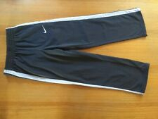 VINTAGE NIKE RETRO TROUSERS PANTS TRACKSUIT BOTTOM 10 11 140 GREY CREAM