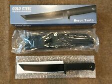 Cold Steel Recon Tanto AUS-8 Made in Japan Knife NIB