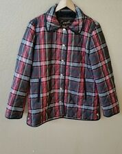 Authentic COACH Quilted Plaid Light Jacket size S, $328