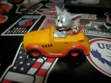 Tom y Jerry Antigua Coleccionable Figura coche con luz