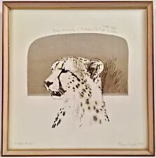 Listed Artist Bryan Organ (b. 1935) Signed Artist's Proof Lithograph c. 1975