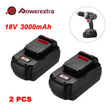 2-Pack 18V 3.0Ah NiCd Replacement Battery for Porter Cable PC18B PCC489N PCMVC