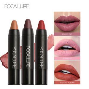 Matte Lipsticks Waterproof Lipstick Cosmetic Easy to Wear Matte Batom Makeup