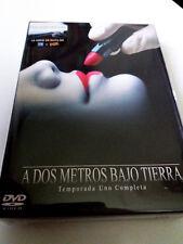 """DVD """"A DOS METROS BAJO TIERRA 1 PRIMERA TEMPORADA COMPLETA"""" 5DVD COMO NUEVO"""