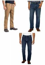 NEW Men Weatherproof Vintage Fleece Lined Jeans Stretch Durable Work Wear Reg