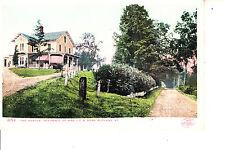 Rutland, VT    The Maples Home Of Mrs J C R Dorr  1904