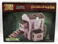 Plast Craft Games MF018 Downtown Building [ColorED] (Malifaux) Terrain Scenery