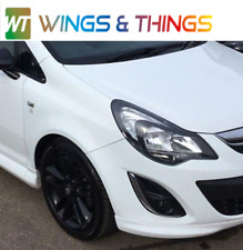 VAUXHALL CORSA D FRONT DRIVER SIDE WING WHITE Z474 06/14 FREE UK POSTAGE