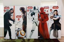 """STAR WARS STORE DISPLAY'S 2017 THE LAST JEDI """"FIND THE FORCE"""" ADVANCED GRAPHICS"""